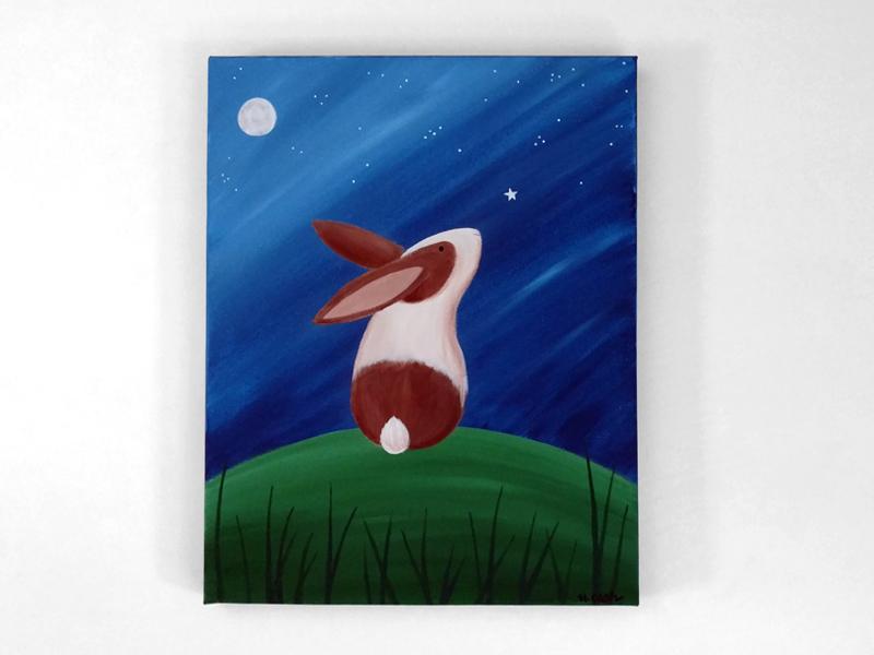 Bunny Canvas Class