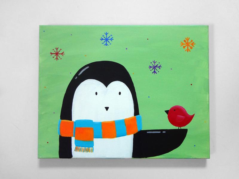 PenguinsNewFriend - S
