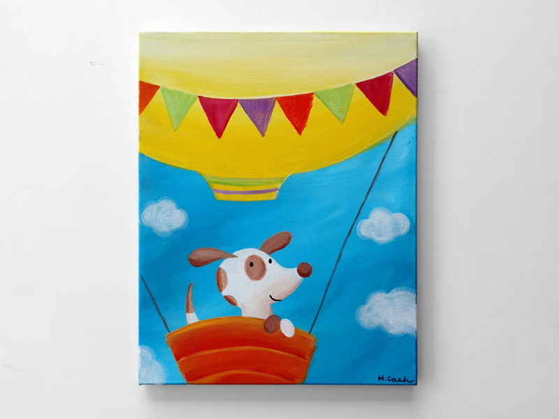Puppy's Balloon Ride