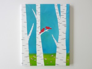 Spring-Birch-Trees-8x10-or-11x14