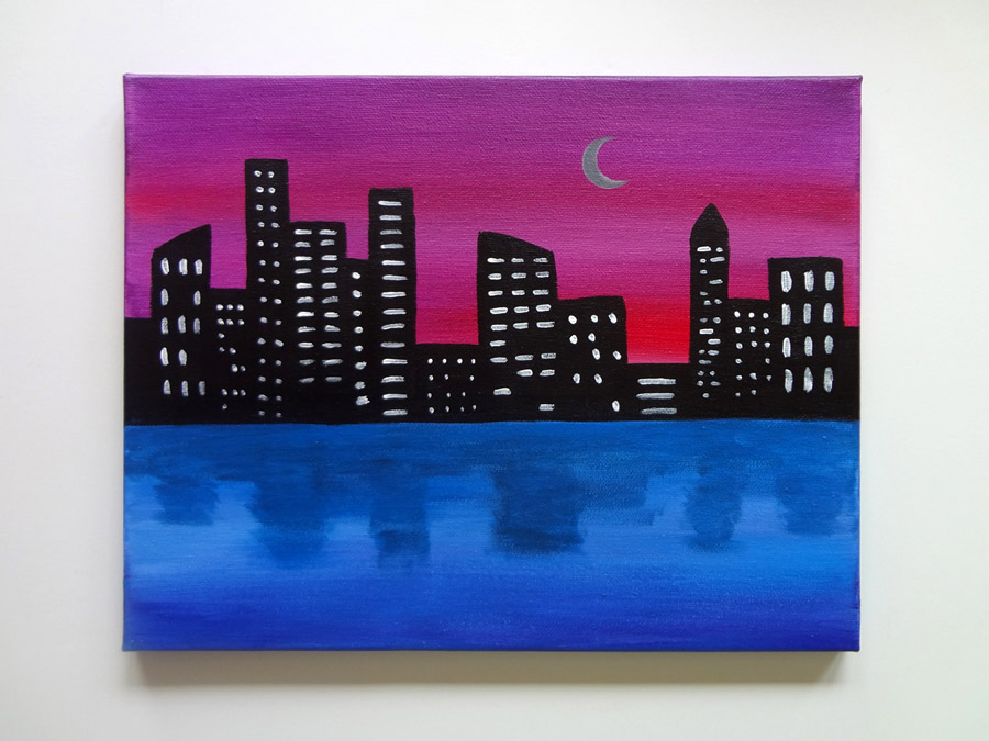 City Lights Painting Class