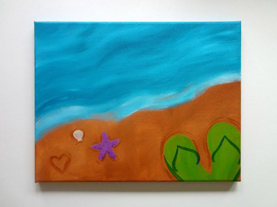 Summer Days Painting Class