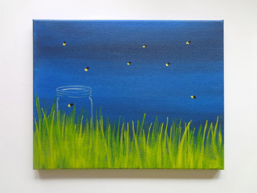 Summer Nights Painting Class