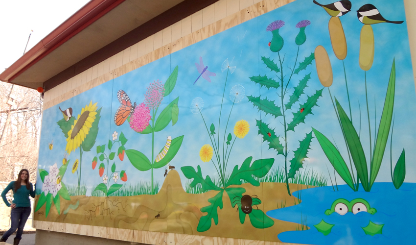 Erie Zoo Mural ❀ Click for Photos