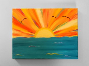 L - Ocean Sunrise