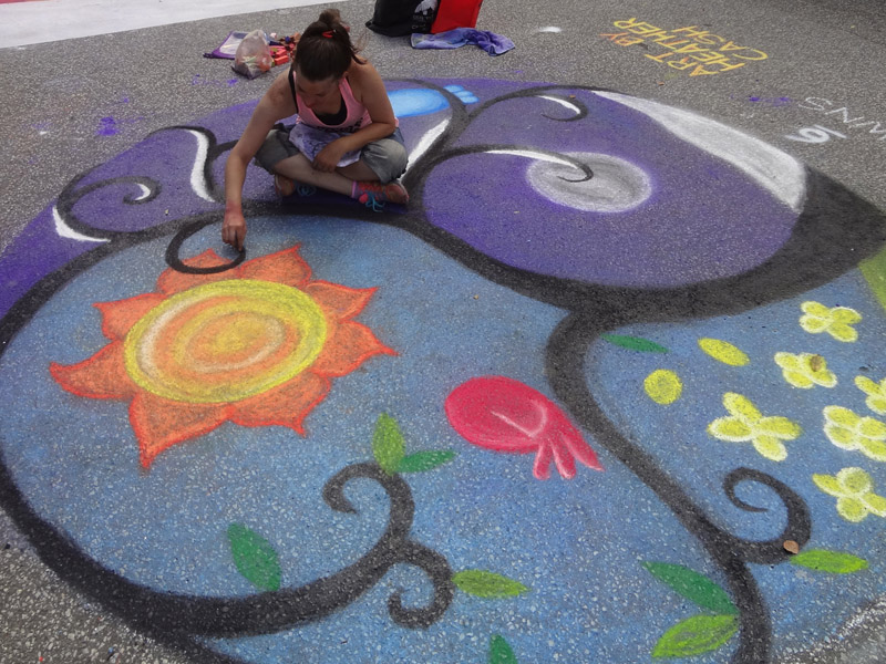 Chalk Walk 2015 ❀ Click for Photos