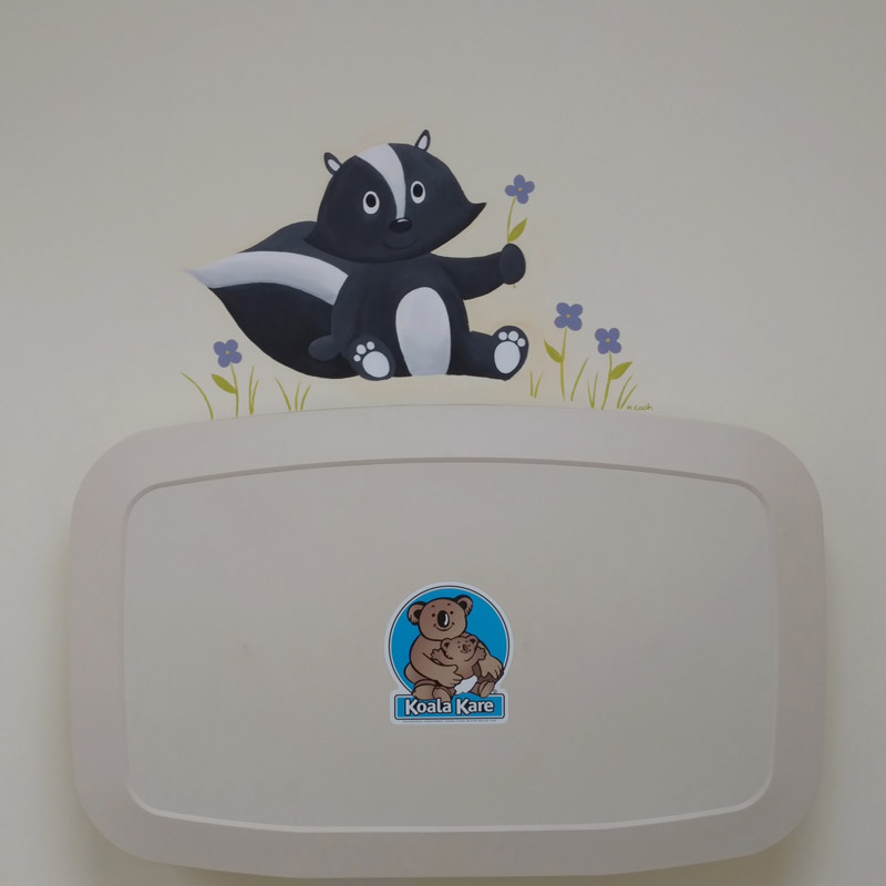 Critter Mini-Murals - Painting & Illustration in Erie, PA by Heather