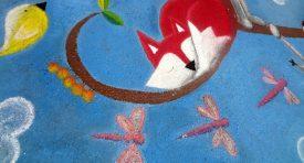 Friendship Forest Chalk Art