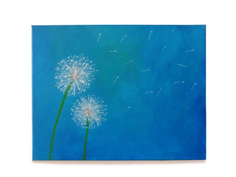 Dandelions 8x10 or 11x14